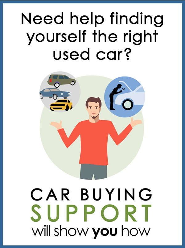 Ad for Car Buying Support